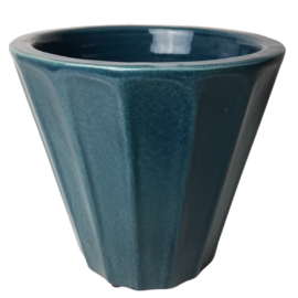 Bloempot Henry Turquoise M