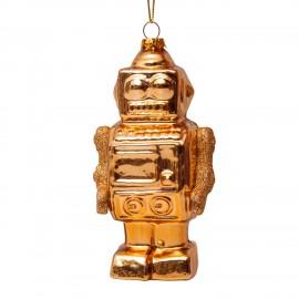 Kerstbal Robot Goud