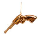 Kerstbal Revolver Goud