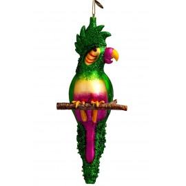 Kerstbal Kaketoe Groen