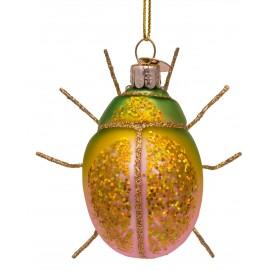 Kerstbal Tor Groen-roze