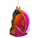 Kerstbal Vlinder Multicolour