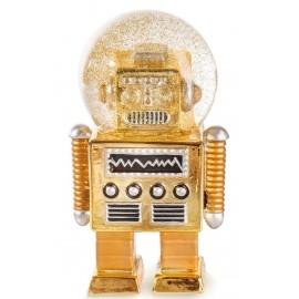 Sneeuwbol De Robot Goud