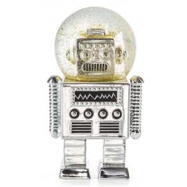 Sneeuwbol De Robot Zilver