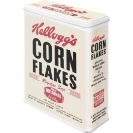 Retro Blik Kellog's Corn Flakes 3D