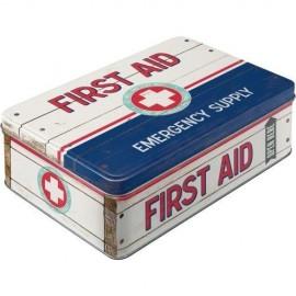 Retro Blik Fist Aid Emergency Supply