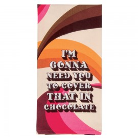 Theedoek Cover in Chocolate
