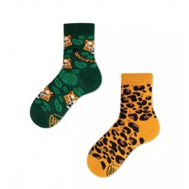 Many Mornings MisMatch Sokken Kids El Leopardo