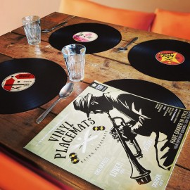 Set van 4 Vinyl Placemats