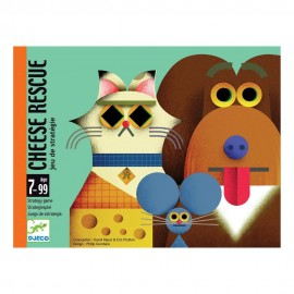 Djeco Kaartspel Cheese Rescue