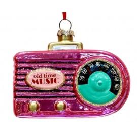Kerstbal Vintage Transisator Radio