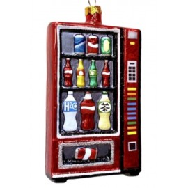 Kerstbal Frisdrankautomaat