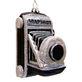 Kerstbal Vintage Camera