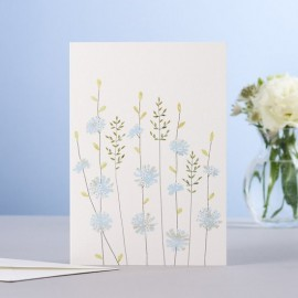 Dubbele kaart Chicory & Grass