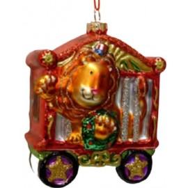 Kerstbal Circus Leeuw