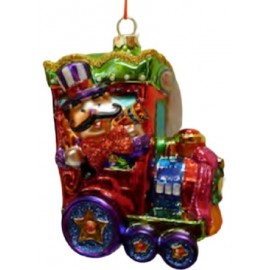 Kerstbal Circus Locomotief