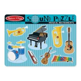 Geluidpuzzel Muziekinstrumenten