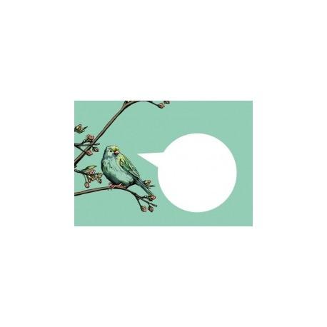 Enveloppe Vogel Bloesemtak