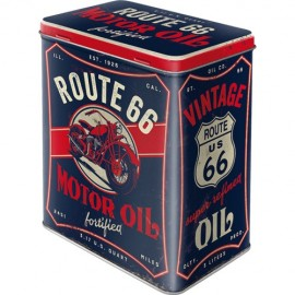 Retro Blik Route 66 Motor Oil