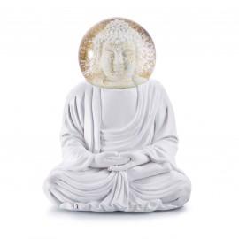 Sneeuwbol Witte Buddha
