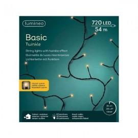 720 Kerstboomlampjes LED Twinkle  Klassiek Warm