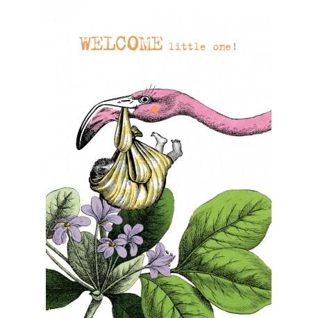 Welcome Flamingo