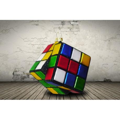 Kerstbal Rubiks Cube