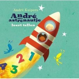 André het astronautje leert tellen