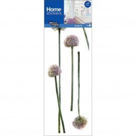 Raamsticker Allium
