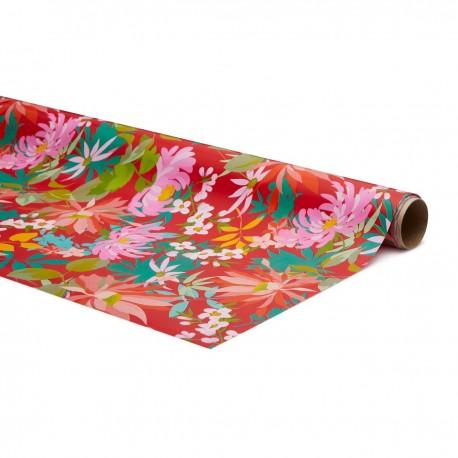 Inpakpapier Tropical Rose