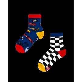Many Mornings MisMatch Sokken Kids Formula Racing