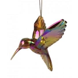 Kerstbal Kolibrie Amber