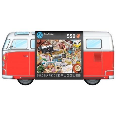 Puzzel VW Road Trips in VW opbergblik