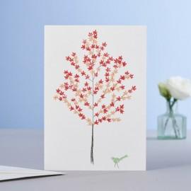 Dubbele kaart Maple Tree