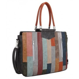 Noi Noi Laptoptas Everly Strepen Multicolor