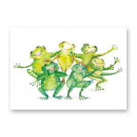 Moniek Peek Funny frogs