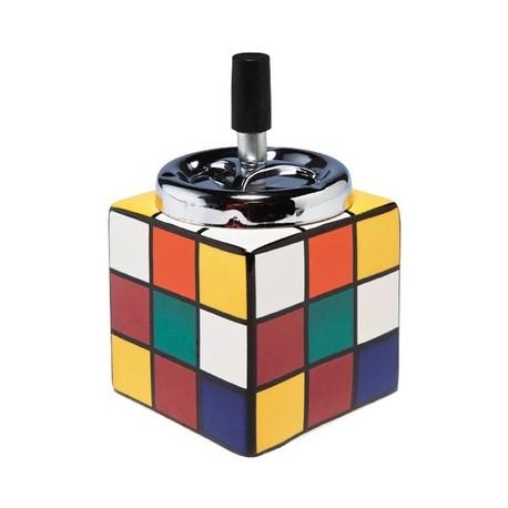 Asbak Rubik' s Kubus Kare Design