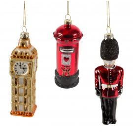 Kerstballen set London