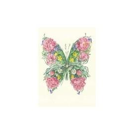 DM Wenskaart Vlinder