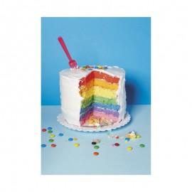 Fotokaart Rainbow Cake