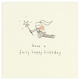 Dubbele kaart Birthday Fairy