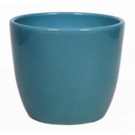 Bloempot Boule Oceaanblauw H.6,5 cm