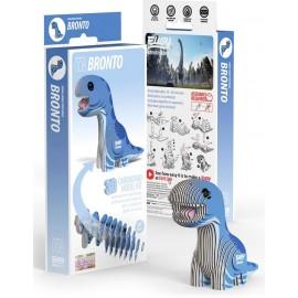 Kartonnen 3D Puzzel Brontosaurus