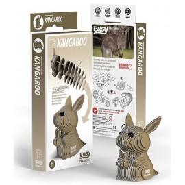 Kartonnen 3D Puzzel Kangoeroe