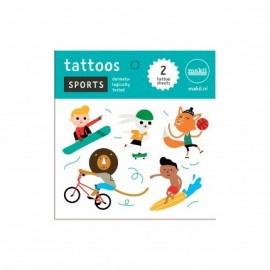 Makii Tattoos Sporten