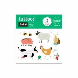 Makii Tattoos Boerderijdieren
