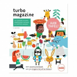 Makii TURBO MAGAZINE 'AAN TAFEL'