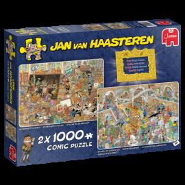 Een Dagje naar het Museum  Jan van Haasteren 2 x 1000st