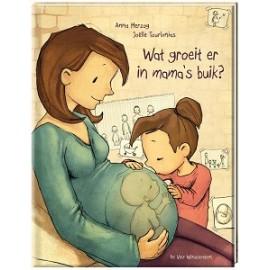 Wat groeit er in mama's buik. 5+
