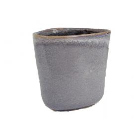 Bloempot Reactiv Grijs H15